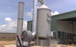 Treatment methods for flue gas of boilers and production wastewater