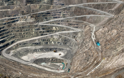 Presence of chrysotile in the air at Thetford Mines