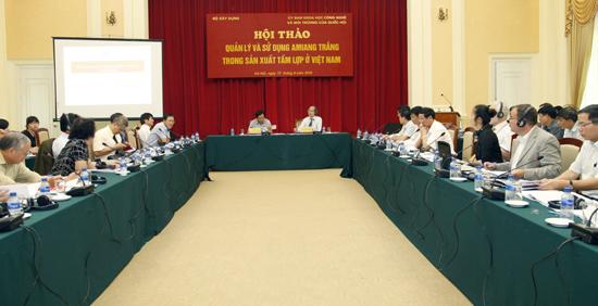 Hội thảo thu hút đông đảo các chuyên gia, nhà khoa học trong nước và quốc tế