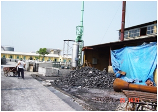 Treatment facility for flue gas of boilers and production wastewater in He Duong Roofing Tile enterprise