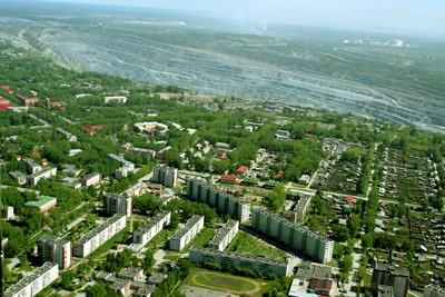 "There is opinion stating that "": Asbest city in Russia, a big asbestos mining in the world, is a dead city"". Is it true?"