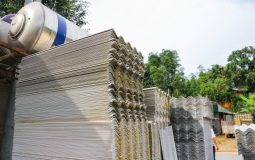 Study report in Vietnam to find safe use measure in the roof sheet factories