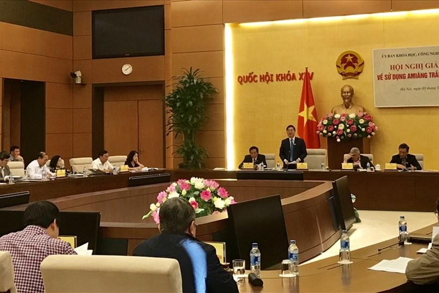 Hội nghị giải trình về sử dụng amiăng trắng tại Việt Nam vì an toàn sức khỏe