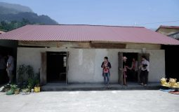 The fieldtrip to assess the situation of a mountainous school in Ha Giang province