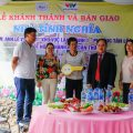 Handover ceremony of 02 houses in Tan Loc and Thanh Hoa ward of Thot Not district