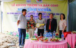 Chính thức bàn giao 02 ngôi nhà tình nghĩa tại phường Tân Lộc và Thạnh Hòa, quận Thốt Nốt
