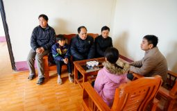 New solid house bring warmth to the poor in the extremely cold winter