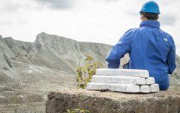 100% magie xanh được sản xuất từ cặn của mỏ amiang trắng